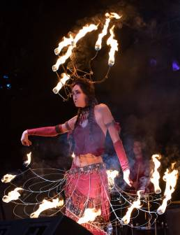 Luminaria 2019 Dancer with Fire